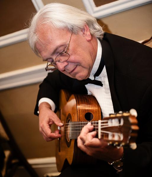 Robert McCloy Playing Guitar
